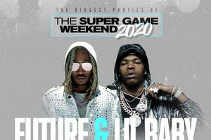 Future and Lil Baby Super Game Weekend 2020 Karu&Y Miami