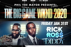 Rick Ross, Diddy The Big Game Weekend 2020 Cameo Miami