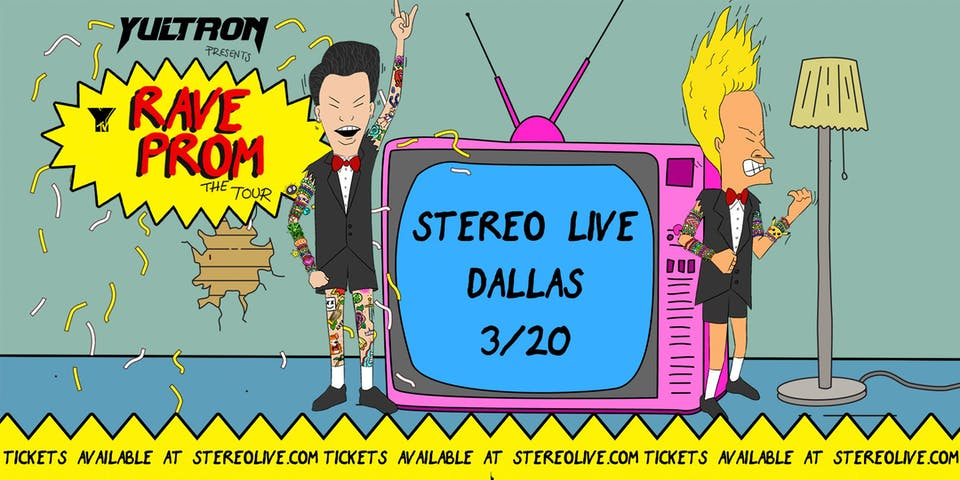 Yultron - Rave Prom Tour - Stereo Live Dallas