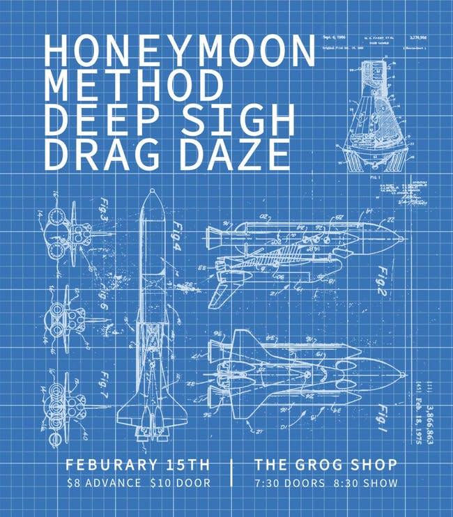 Honeymoon/ Method / Deep Sigh / Drag Daze