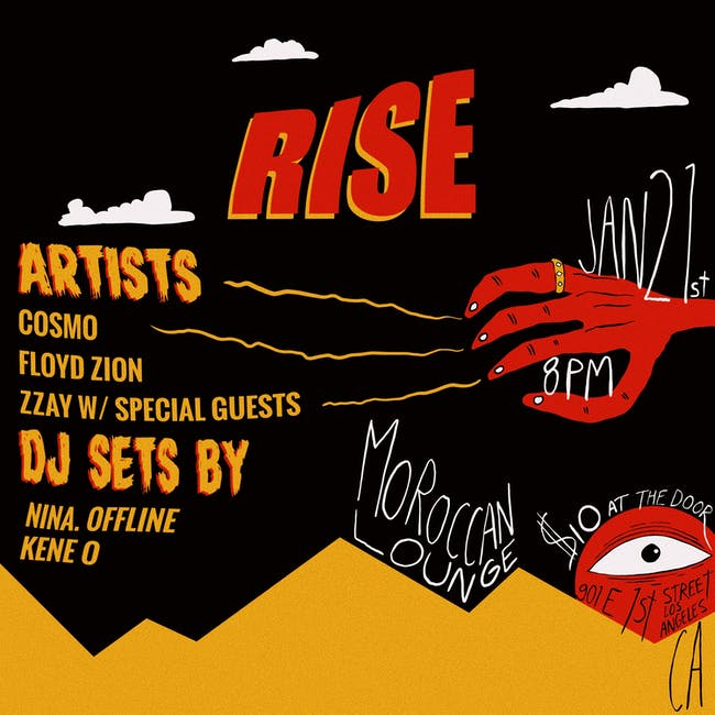 RISE ft. Cosmo, Floyd Zion, Zzay + Special Guests