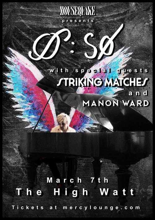 SØ w/ Striking Matches & Manon Ward