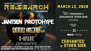 RE:Search ft. Jantsen & Protohype w/ G-Space + SpicyBois Takeover ft. MeSo