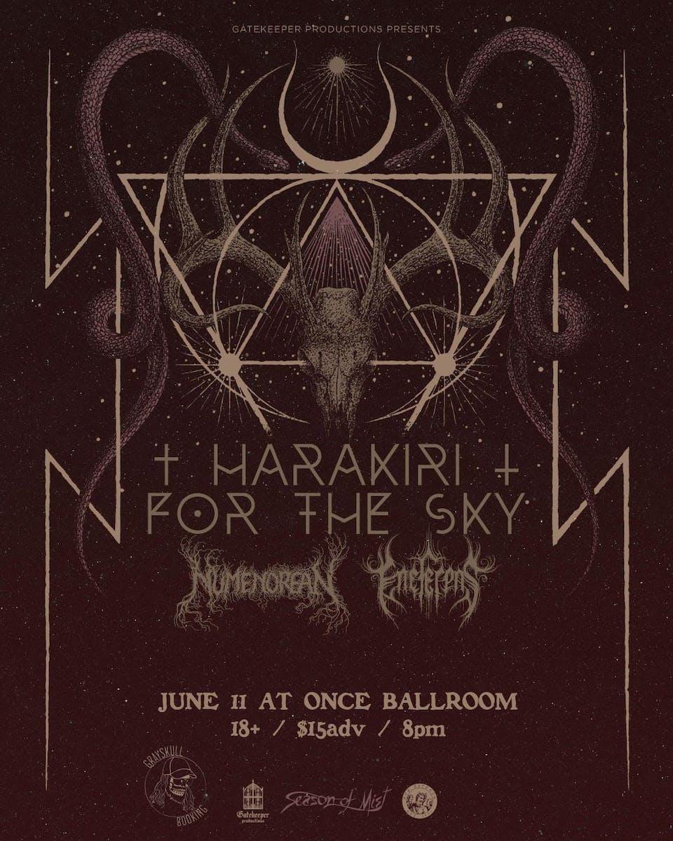 CANCELED Harakiri For The Sky, Numenorean,  Eneferens