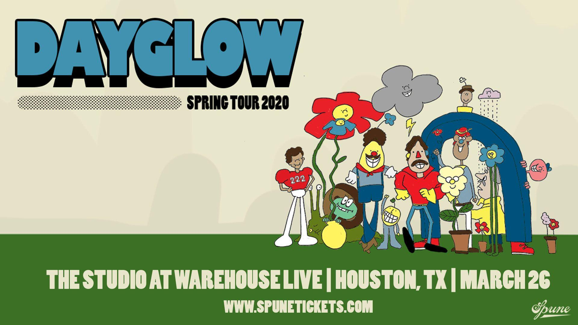 DAYGLOW - SPRING TOUR 2020