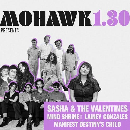 Sasha & The Valentines @ Mohawk (Indoor)