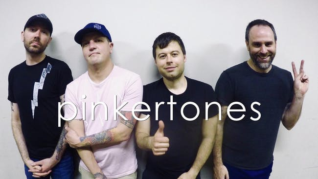 """The Pinkertones """"90's Era Weezer Tribute Band"""""""
