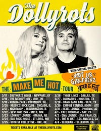 THE DOLLYROTS: Make Me Hot Tour