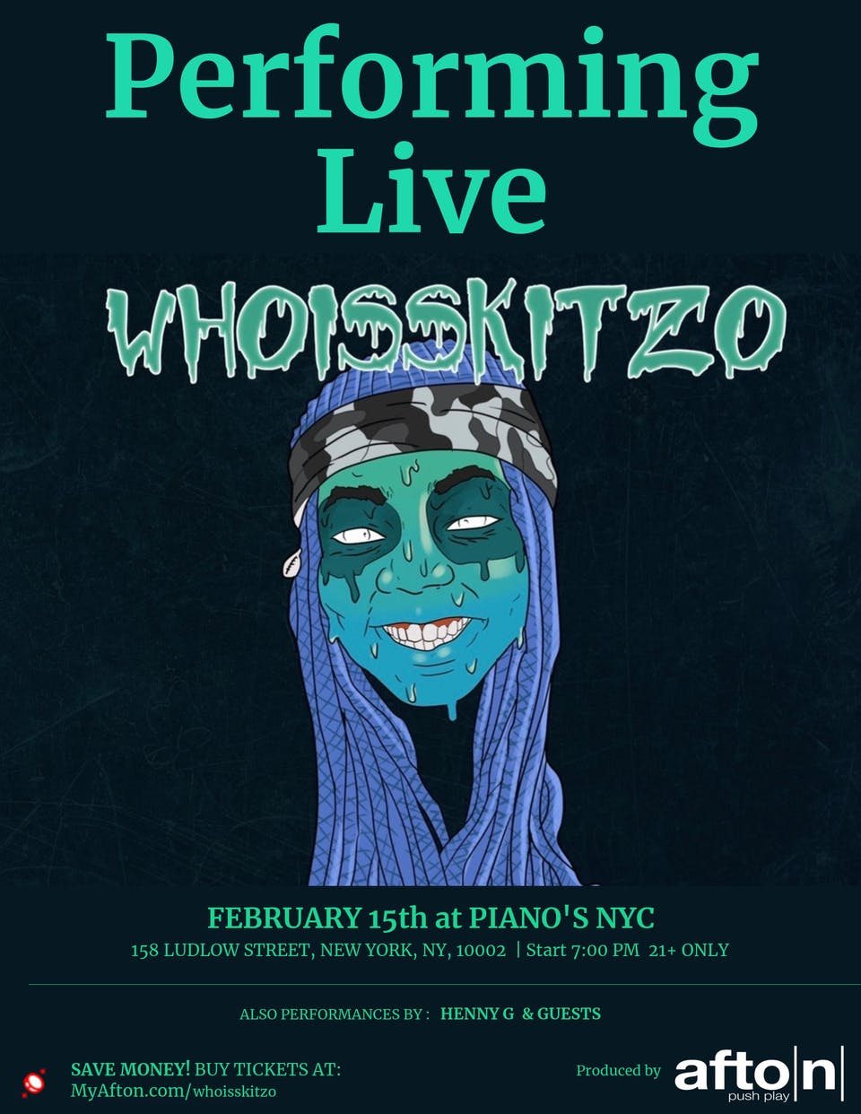AFTON PRESENTS: who is Skitzo, Rich Not Famous, Chyna Jai + MORE
