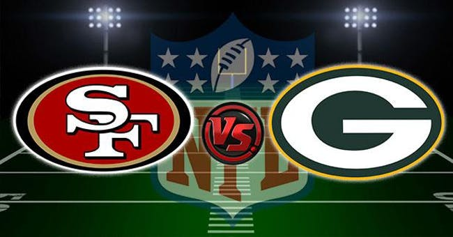 SF 49ers vs Green Bay Packers