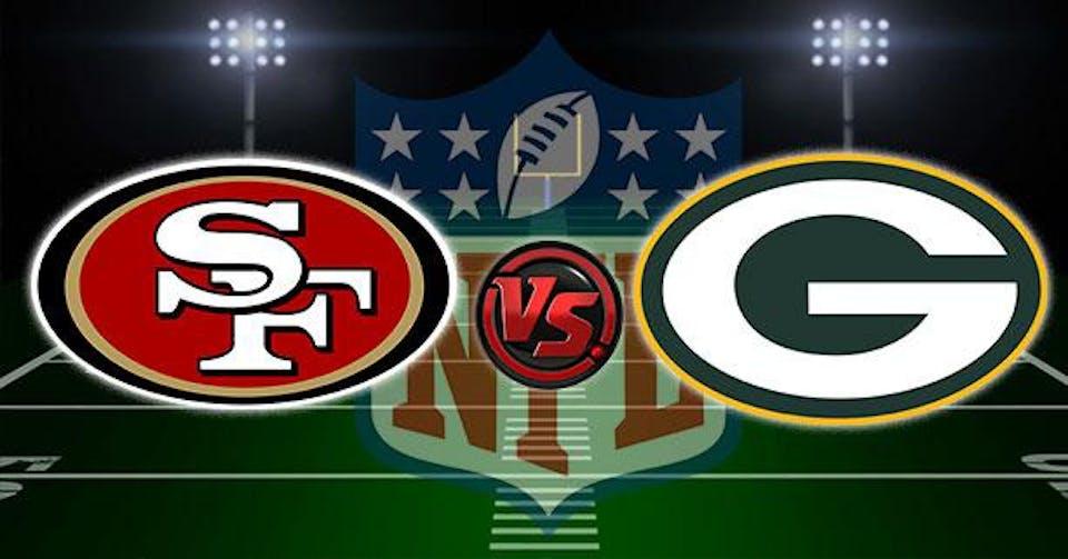 SF 49ers vs Green Bay Packers