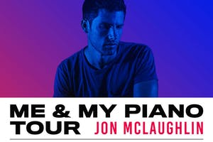 "Jon McLaughlin ""Me and My Piano Tour"" live at The"