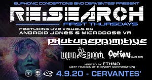 RE:Search ft Phutureprimitive w/ Liquid Bloom - Visuals by Android Jones
