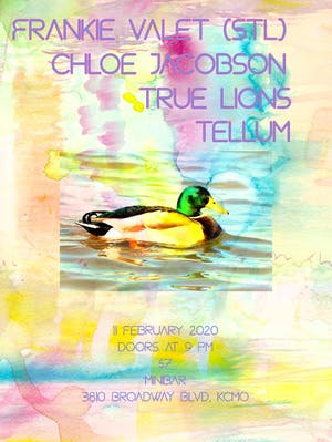 Frankie Valet (STL) /  Chloe Jacobson / True Lions /  Tellum