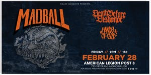 Madball with Death Before Dishonor and Hands of God