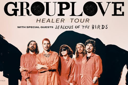 Grouplove Healer Tour