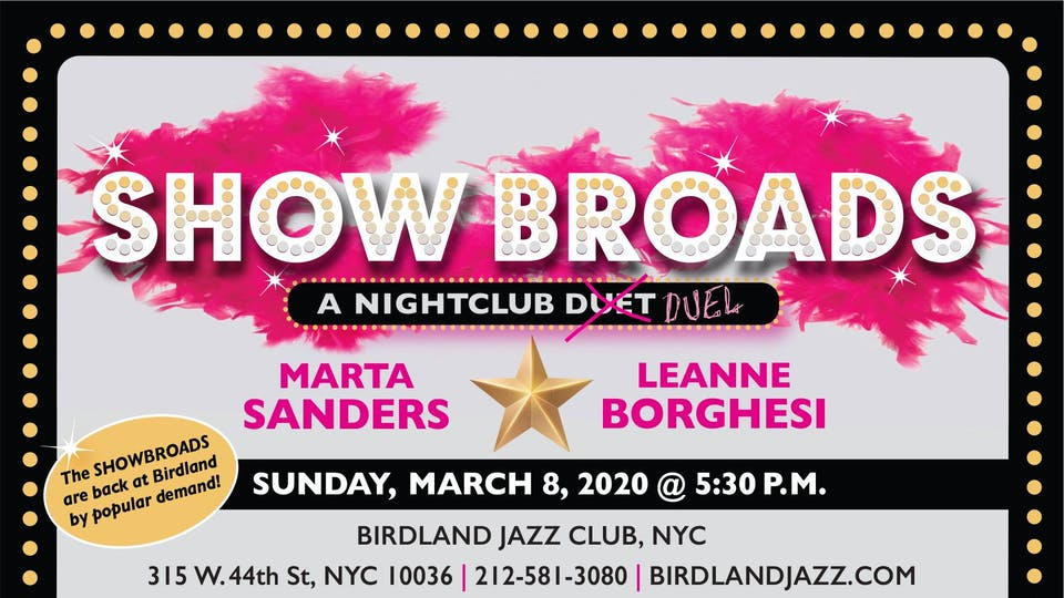 "Leanne Borghesi & Marta Sanders: ""SHOW BROADS"""