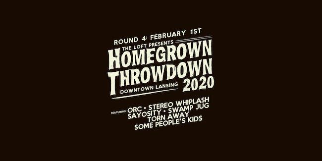 Homegrown Throwdown 2020 - ROUND #4
