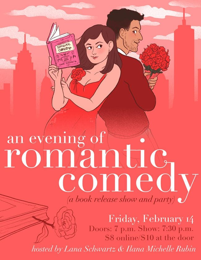 An Evening of Romantic Comedy: A Book Release Show and Party