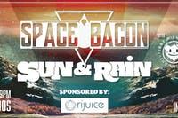 Space Bacon, Sun & Rain, and Teddy Midnight in the Capitol Room