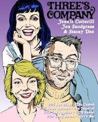 Three's Company: Jennie Cotterill, Jon Snodgrass & Stacey Dee