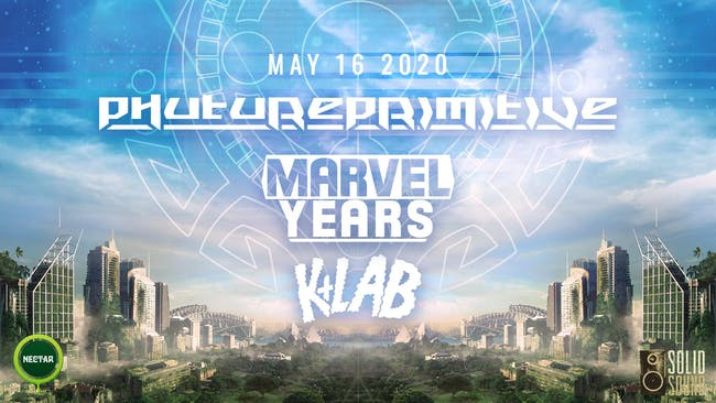 PHUTUREPRIMITIVE with Marvel Years, K-Lab