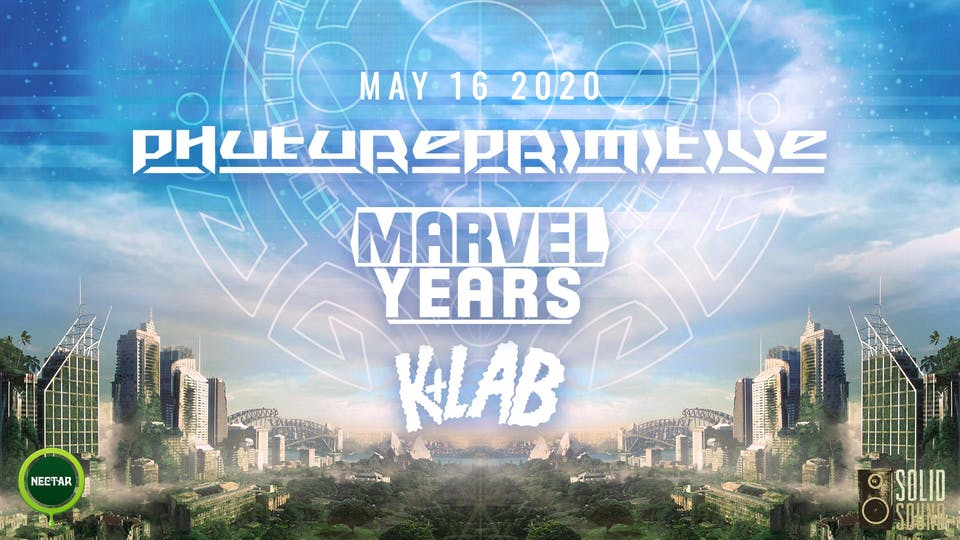 PHUTUREPRIMITIVE with Marvel Years, K-Lab