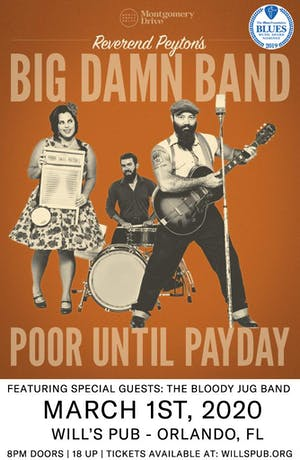 The Reverend Peyton's Big Damn Band with The Bloody Jug Band