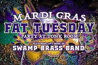 Mardi Gras Fat Tuesday Party w/ Swamp Brass Band