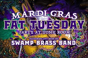 Mardi Gras Fat Tuesday Party w/ Swamp Brass Band