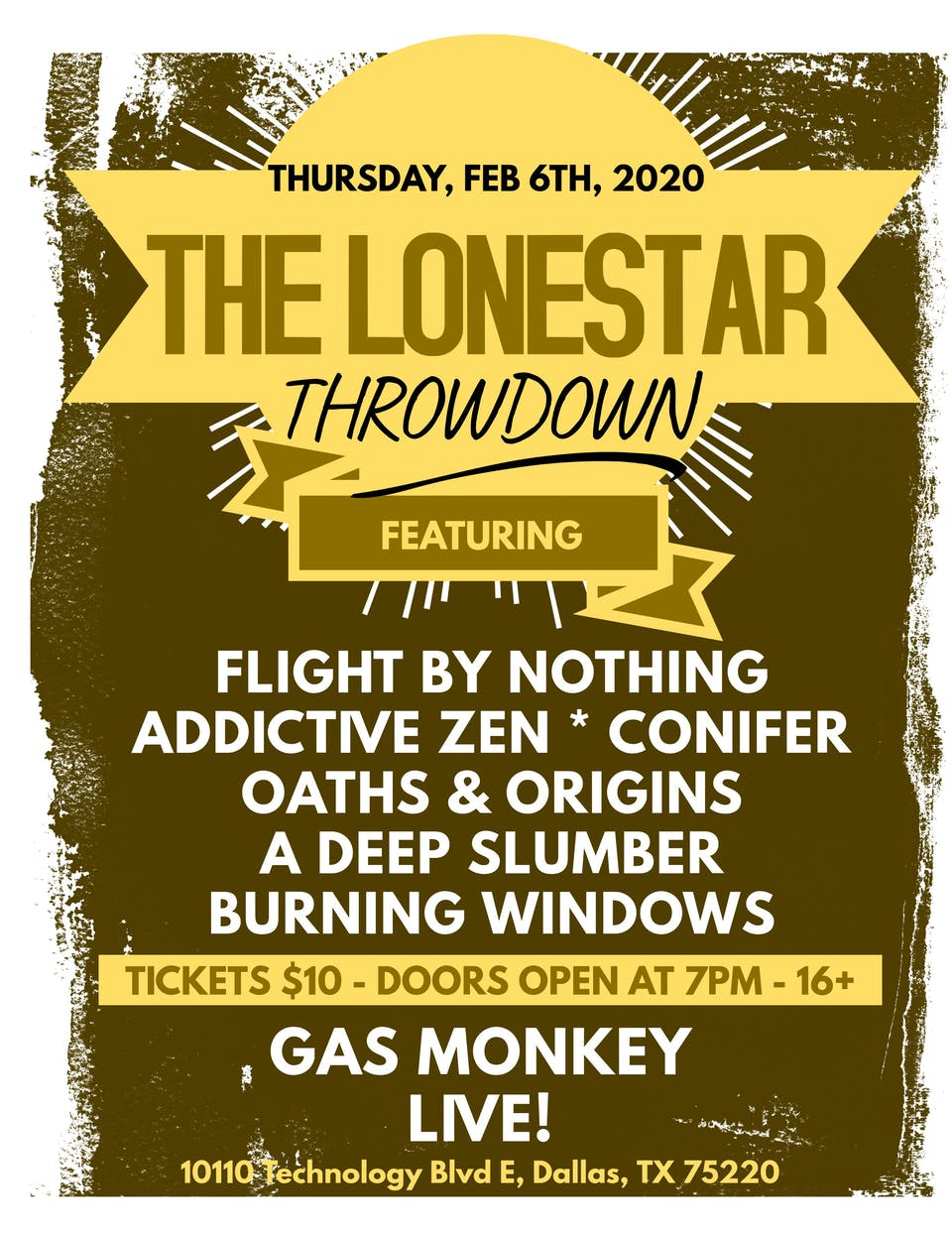 THE LONESTAR THROWDOWN
