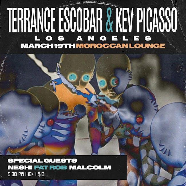 [POSTPONED] Terrance Escobar / Kev Picasso