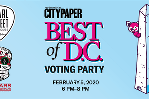Washington City Paper's Best Of D.C. Voting Party