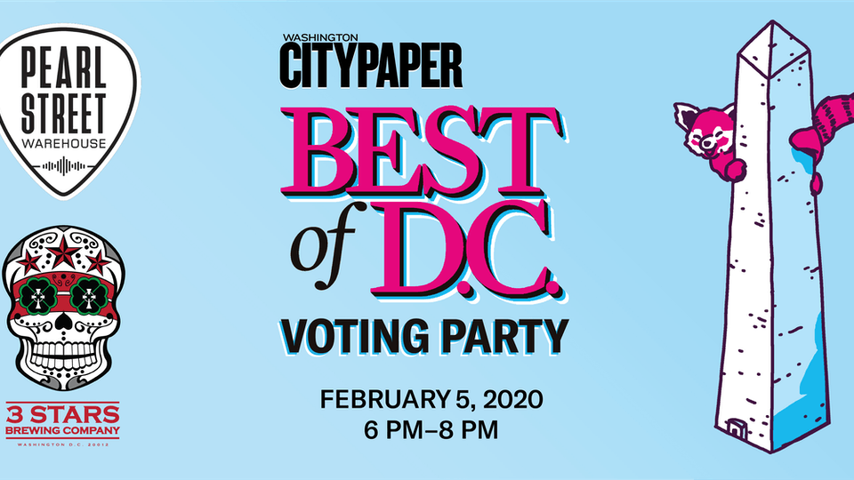 Washington City Paper's Best Of D.C. Voting Party
