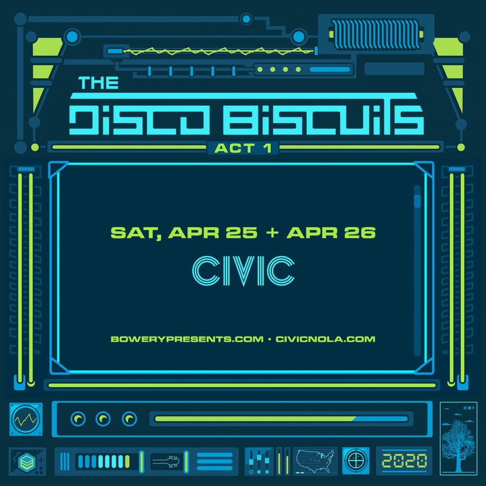 The Disco Biscuits - TWO NIGHT PASS!
