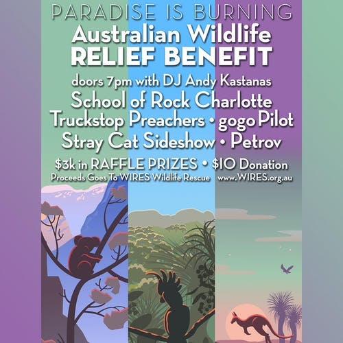 AUSTRALIAN WILDLIFE RELIEF BENEFIT