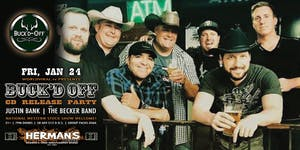 BUCK'D OFF (CD Release Party) w/ Justin Bank | The Becker Band