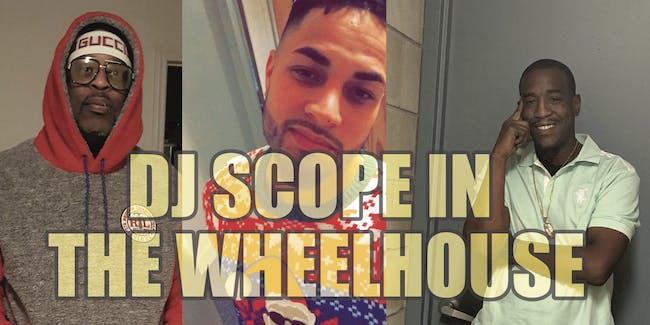 DJ Scope with host Jason Byrd