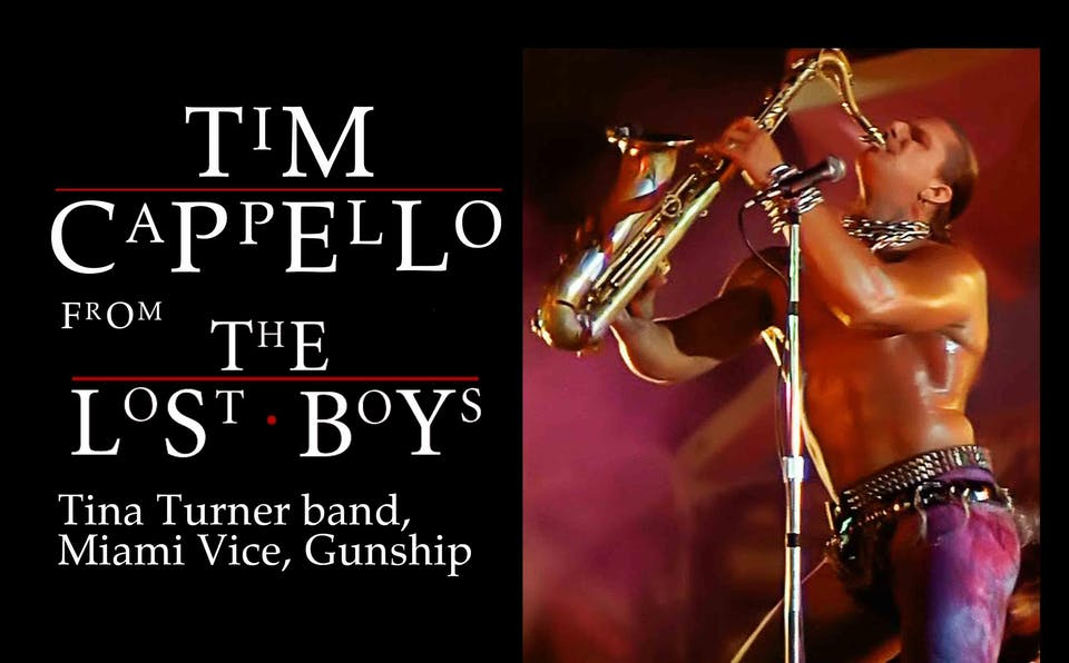 Timmy Cappello (Lost Boys, Tina Turner, Miami Vice, Gunship) at Will's Pub