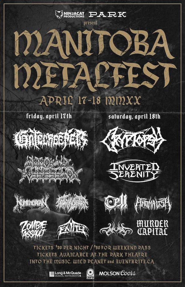 Metal Fest 2020 - Night 2 - Cryptopsy