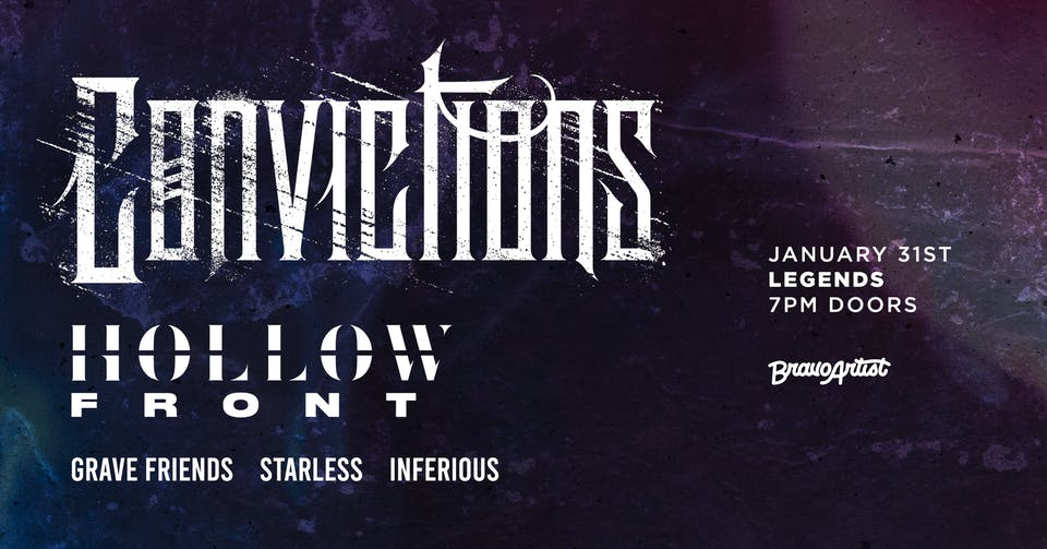 Convictions @ Legends (1/31)