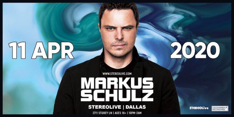 Postponed - New Date TBD - Markus Schulz - Stereo Live Dallas