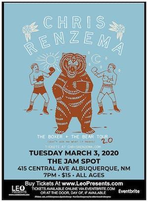 "Chris Renzema ""The Boxer + The Bear Tour"""