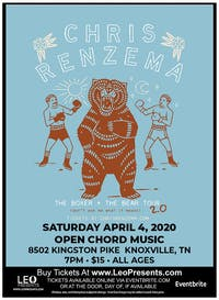 "Chris Renzema ""The Boxer + The Bear Tour"" @ Open Chord Music"