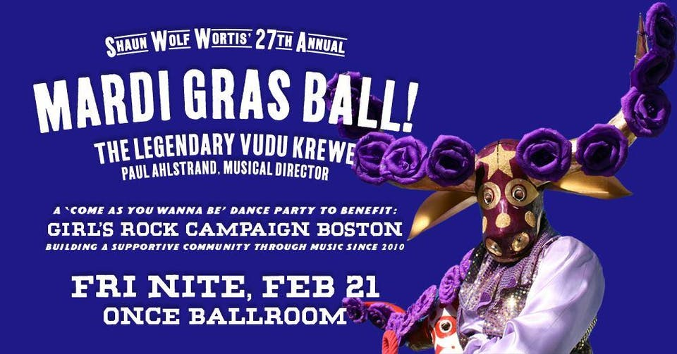 The 27th Annual Mardi Gras Ball!