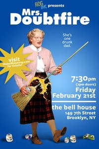 A Drinking Game NYC presents Mrs. Doubtfire