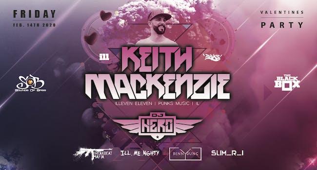 Sounds Of Bass Presents:  KEITH MACKENZIE + DJ HERO