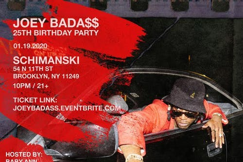 JOEY BADA$$ - 25th Birthday Party