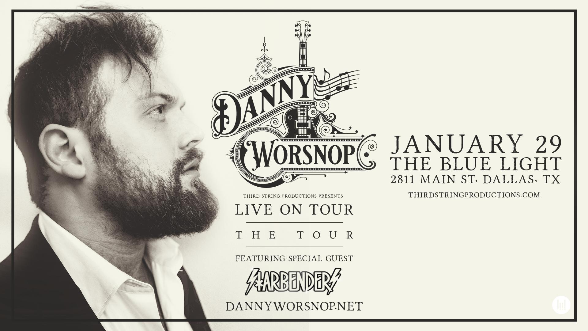 Danny Worsnop at Blue Light