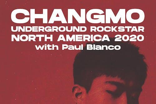 CHANGMO UNDERGROUND ROCKSTAR NORTH AMERICAN TOUR 2020